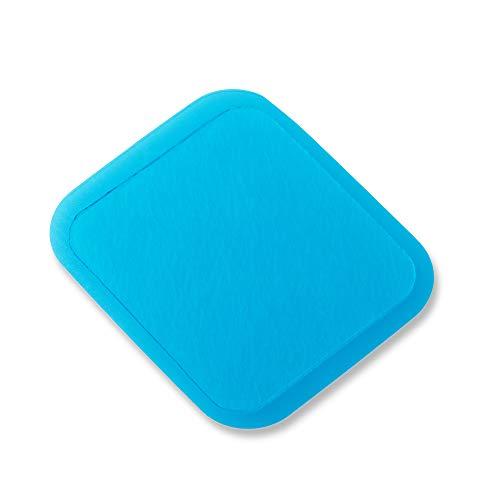Beurer EM 50 - Almohadillas de gel reutilizables con EM 50 Menstrual Relax TENS y almohadilla térmica, 6 almohadillas de gel autoadhesivas, 50 x 56 mm