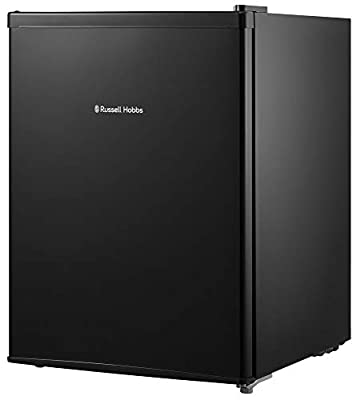 Russell Hobbs RHTTF67B 66 Litre A+ Reversible Doors Table Top Mini Fridge, Black