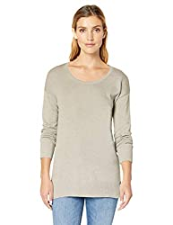 A flattering scoop neckline and subtle dropped shoulder highlight this sweet tunic-style top Cotton/modal/poly fabric blend provides superior softness Everyday made better: we listen to customer feedback and fine-tune every detail to ensure quality, ...