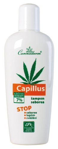 Capillus Hemp Shampoo Treatment Scalp with Seborrhea (Seborrheic Dermatitis) or Psoriasis Skin 150ml/3.5Floz by CANNABIS-COSMETICS