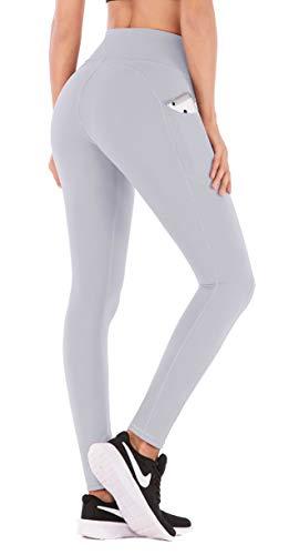 IUGA Pantalones de yoga con bolsillos, leggings de entrenamiento con bolsillos para mujer