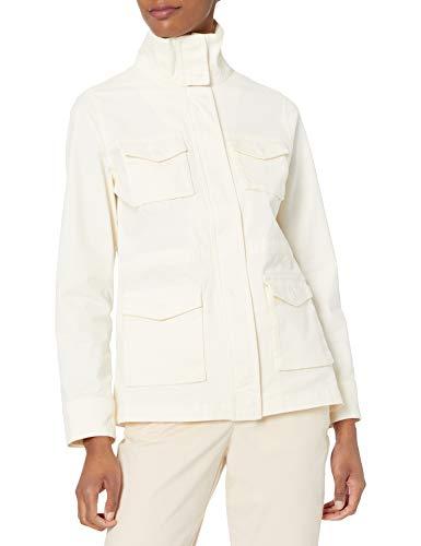 Amazon Essentials Utility Jacket Chaqueta, Blanco Marfil, M