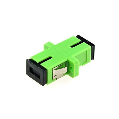 CABLEPELADO Acoplador de Fibra optica SC-APC monomodo simple