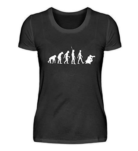 Chorchester Evolution der Fotografie für Fotografen - Damenshirt