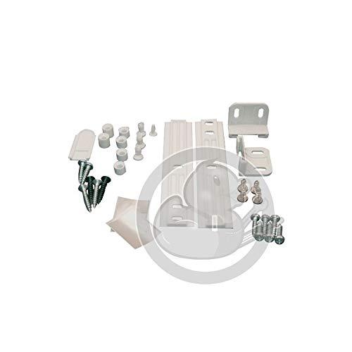 WhirlpoolBefestigungsset für Kühlschranktür + Gleitschienen-System für Kühlschrank