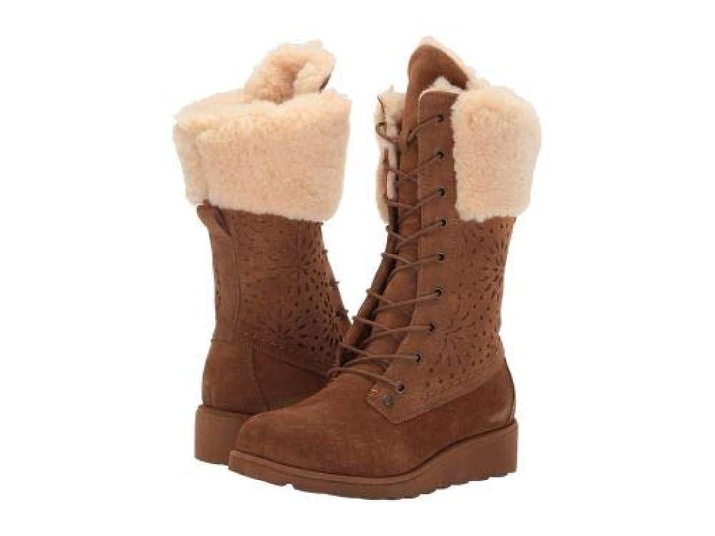 放射するお風呂銅[ベアパウ] レディース 女性用 シューズ 靴 ブーツ レースアップブーツ Kylie - Hickory [並行輸入品]