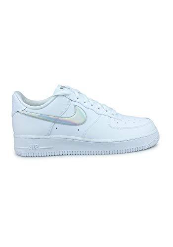 Nike Wmns Air Force 1 '07 ESS, Zapatilla de Baloncesto para Mujer, Blanco/Blanco/Blanco, 38 EU