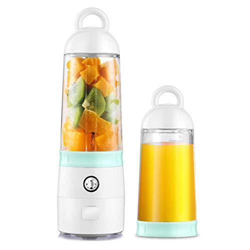 Barir Portable Juicer, 400ml Multifunktions-Fruchtbecher, Mini-Reisesaftpresse aufladbar , Obst und Gemüse, Perfekter Mixer für den persönlichen Gebrauch