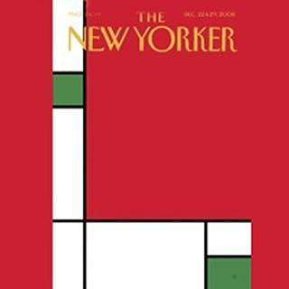 The New Yorker, December 22 & 29, 2008 cover art