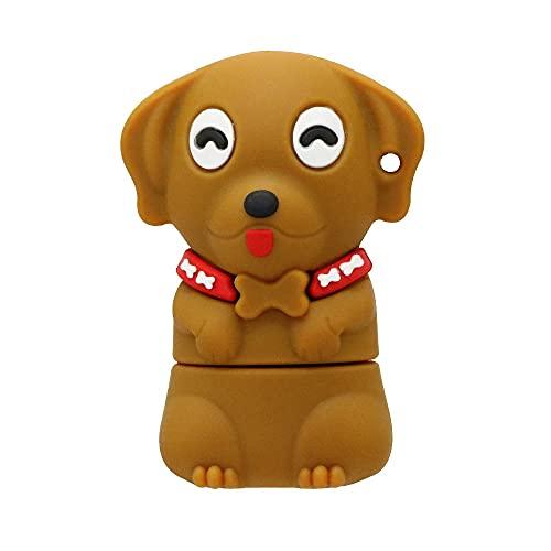 Chiavetta USB da 16 GB Novità Pen Drive a forma di cane animale Super Cute Cartoon Thumb Drive Memory Stick Memoria USB 2.0 Pendrive - Civetman