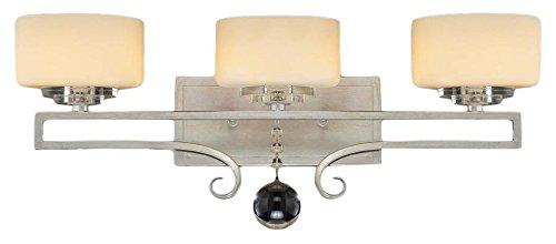 Savoy House 8-257-3-307 Rosendal 3-Light Vanity Bar in Silver Sparkle