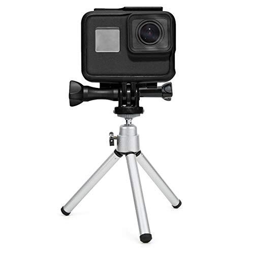 20 in 1 Action Camera Accessoire Kit AT434 Kunststof Lichtgewicht Mini Statief Camera Set Combinatieset voor sportcamera's, skiën, varen, vissen