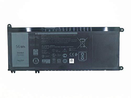 33YDH 99NF2 PVHT1 81PF3 Reemplazo de la batería del portátil para Dell Inspiron 17 7000 7778 7779 7786 7773 15 7577 G3 3579 3779 G5 5587 G7 7588 Latitude 13 3380 14 3490 15 3590 3580 P30E (15.2V 56Wh)