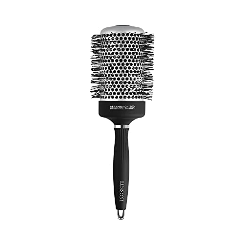 T4B LUSSONI Hot Volume Brosse A Cheveux Ronde Pour Styling Cheveux Courts Et Moyens (65 mm)