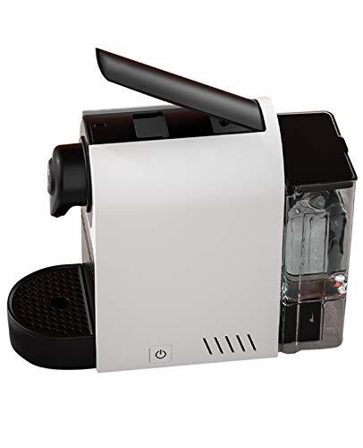 WLL Cafetera Monodosis De Cápsulas para La Mayoría De La Vaina del Café Molido Botón De Un Solo Toque Rápido Brew Y Apagado Automático Programable Cafetera Y Agua Caliente