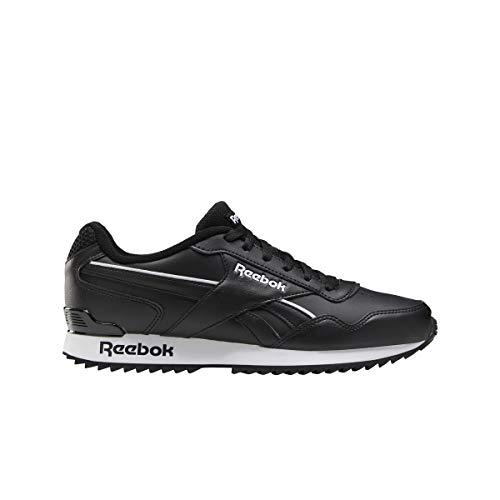 Reebok Royal Glide RPLCLP, Zapatillas de Running Hombre, Negro/Blanco/Negro, 43 EU