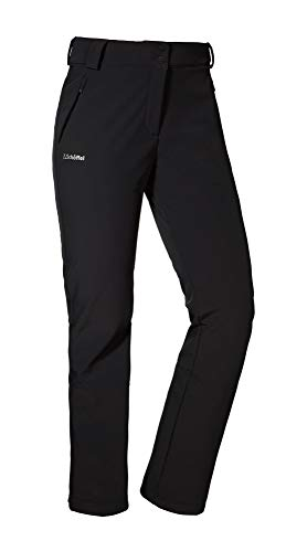 Schöffel Softshell Pantalon Lille2 Longue Femme, Navy Peony, FR : M (Taille Fabricant : 38)
