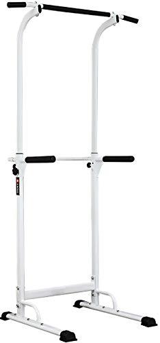 WASAI(ワサイ) ぶら下がり健康器 懸垂マシン【組立簡単/コンパクト】懸垂 器具 チンニングスタンド けんすいマシーン 筋トレーニング BS30W (3色) (ホワイト)