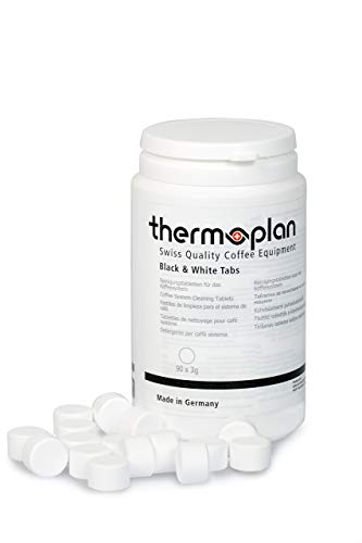 Thermoplan Reinigungstabletten für Kaffeevollautomaten | 90 Tabs mit 3g | Black&White CT, CTS, CTM, CTMF5, easyline, barbeanie, ONE, Smart, Tiger, Tiger Cool