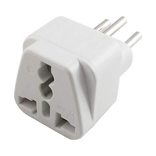 BIlinli Universal UK/US/EU in die Schweiz Schweizer Wechselstrom-Stecker Adapter Konverter
