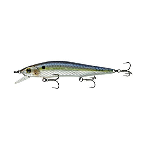 6th Sense Lure Co. Provoke 106 x – Jerkbait Disk, Multicolore, Unisex Adulto, Multicolore (Chrome Threadfin)