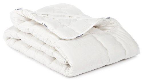 Badenia Bettcomfort Irisette Merino wash Spannunterbett mit Baumwollbezug, 140 x 200 cm
