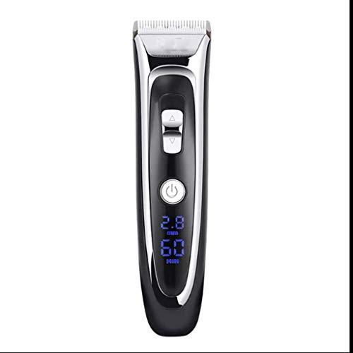 GFDFD Cordless Hair Trimmer Pro Hair Clippers Beard Trimmer for Hombres Kit de Corte de Pelo USB inalámbrico Recargable a Prueba de Agua