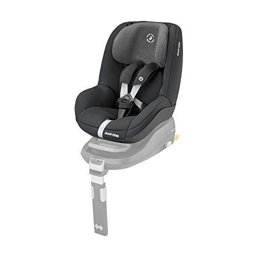 Maxi-Cosi Pearl Kindersitz mit 5 Sitz- und Ruhepositionen, Gruppe 1 Autositz (9-18 kg) nutzbar ab 6 Monate bis ca. 4 Jahre, Authentic Black (schwarz)