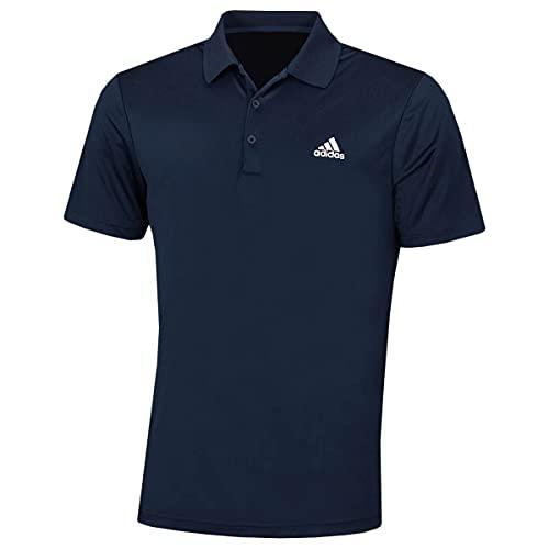 adidas Golf Herren Performance-Left Chest Logo Soft-Polo-Hemd - Marine - L