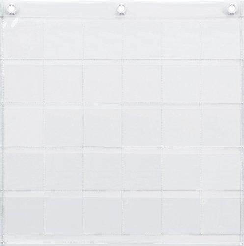 サキ(Saki) ウォールポケット クリア 本体サイズ:約幅53×高さ53cm