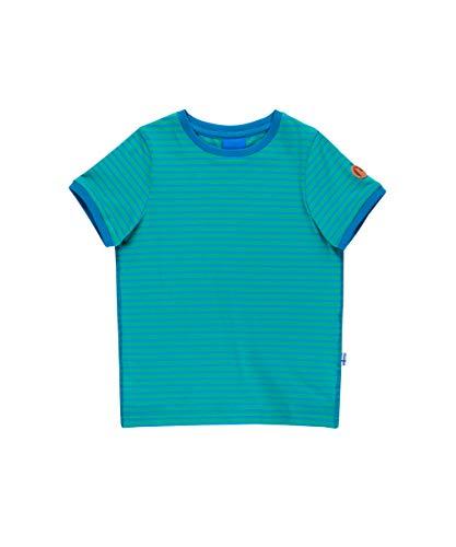 Finkid Renkaat emerald mosaic Kinder kurzarm T-Shirt mit UV-Schutz