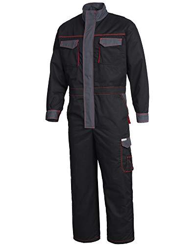 SAFETYTEX Winteroverall Overall Warm Winter gefüttert Arbeitsoverall Thermo Overall Arbeitskombi Rallyoverall Schutzanzug (XL)