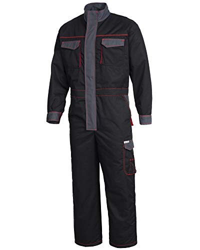 SAFETYTEX ® Winteroverall Overall Warm Winter Arbeitsoverall Thermo Overall Arbeitskombi Rallyoverall (XL)