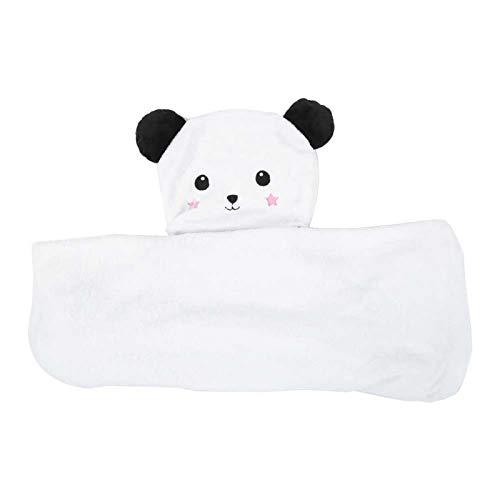 3 tipos lindos, toallita para bebé, buen regalo para bebés para recién nacidos, bebés, niños pequeños y niños grandes,(75 * 100, panda)