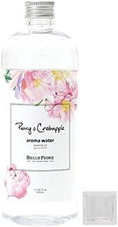 【計量カップ付き】ノルコーポレーション ベルフィオーレ アロマウォーター 加湿器 用 500ml ピオニー & クラブアップル の香り OA-BLE-2-1【計量カップのおまけつき】