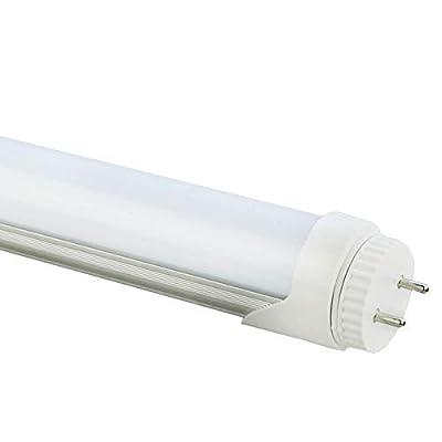 LED Tube Light, 120V 18'' 7W F15T8 Tube Light Bulb, 5500K Daylight White, LED Fluorescent Tubes Replancement(120v 1-Pack 5500k) (Renewed)