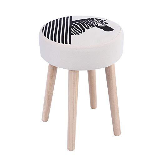 Best Price Jdeepued Vanity Stool Vanity Makeup Dressing Stool Padded Bench with Rubberwood Legs for ...