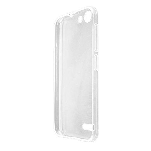 caseroxx TPU-Hülle für Vodafone Smart E8, Tasche (TPU-Hülle in transparent)