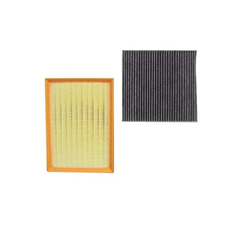 Luftfilterkabine Filter 1109110XSZ08A 2 Stück Set Fit für Great Wall Haval H6 2.4L 1.5T 2.0T Modell 2011-2013 2014-2016 Auto Accessoris (Color : 2 pcs Filter)