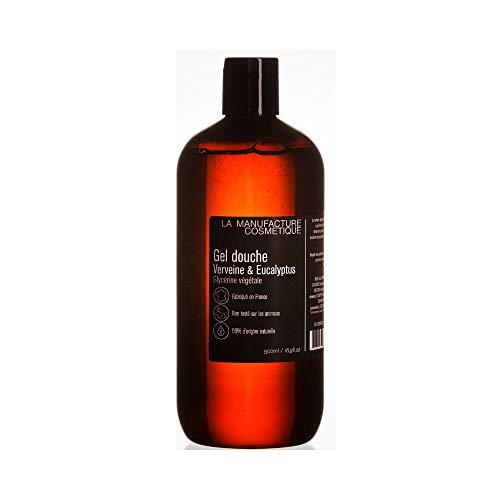 Duschgel Frische 500ml 99% natürliches pflanzliches Glycerin Eisenkraut Exotisches sanftes Duschgel Made in France Nicht an Tieren getestet.