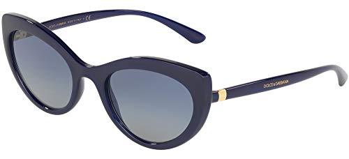 Dolce & Gabbana 0DG6124 Gafas de sol, Opal Blue, 53 para Mujer
