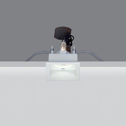 iGuzzini Deep Laser MA03.001 Faretto Incasso Quadrato 50W Bianco Gu10 Alogena 8025550240753