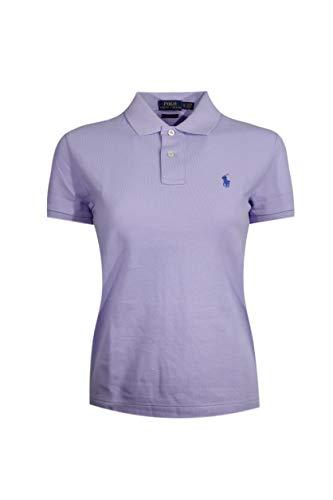 Ralph Lauren Polo-Shirt für Damen, Skinny Fit, Beige X-Small