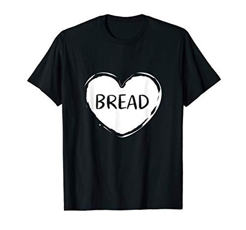 Funny I Love Bread T-Shirt Gluten Lover Gift Tee