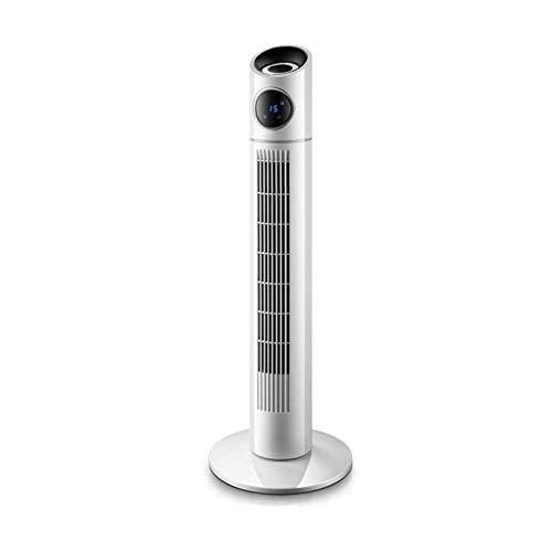 Sdesign Ventilador de Torre oscilante de 35 Pulgadas, Potente Motor 40W con Control Remoto, Temporizador de 15 Horas y 3 velocidades de Ventilador de refrigeración para el hogar y la Oficina