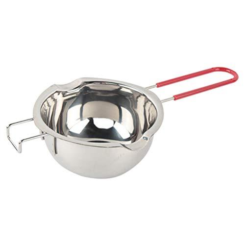 GZQ Double chaudière universelle en acier inoxydable - Bol à lait - Pot de cuisson pour chocolat, bonbons, beurre, fromage, caramel