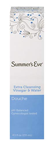 Summer's Eve Douche, Vinegar and Water, pH Balanced &...