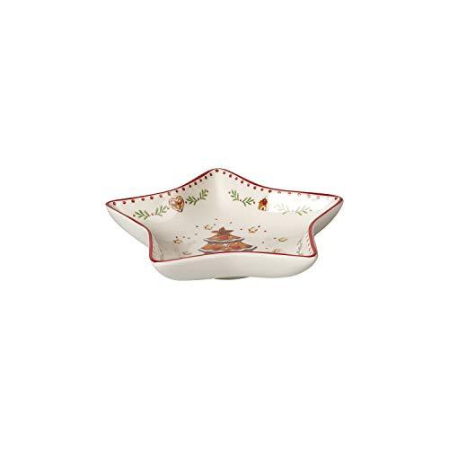 Winter Bakery Delight kleine Sternschale Lebkuchen, rot/bunt, 13 cm