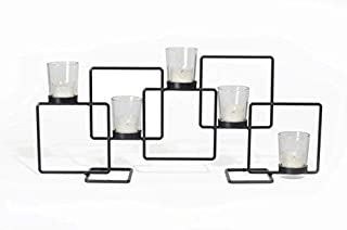 Adorn Modern Geometric Design Candle Holder