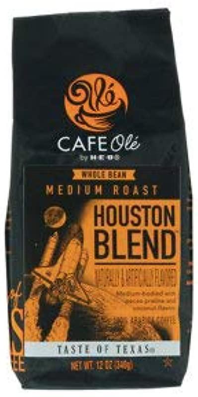 Cafe Ole Taste Of Texas Houston Blend Whole Bean 12oz 3 Pack